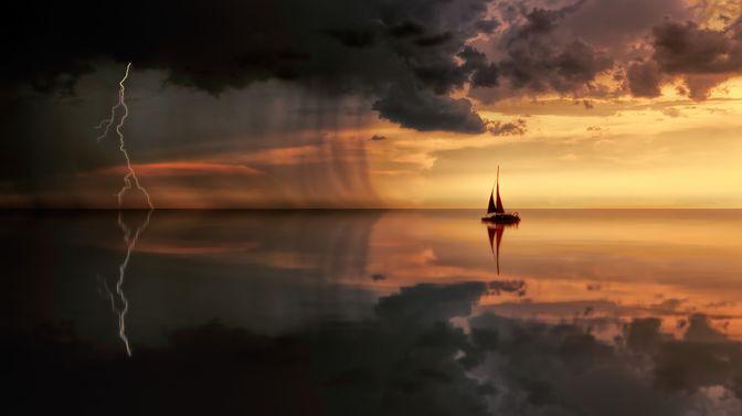 Hãy bình an giữa giông bão cuộc đời